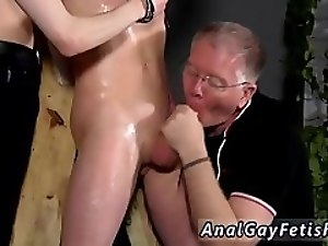 Old gay boy first sex tube time The man is so inexperienced, but