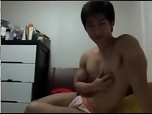 Straight guy showing dick to girlfriend on webcam - www.thondammy.com