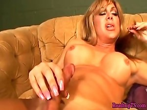 Trans beauties banged until cumming