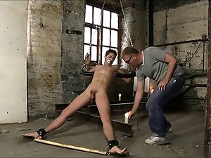 Hot gay Slave Under Heat