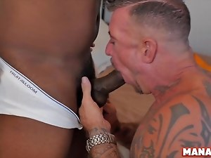 MANALIZED Kinky Hung Ray Dalton Drilled Deep By Raw BBC