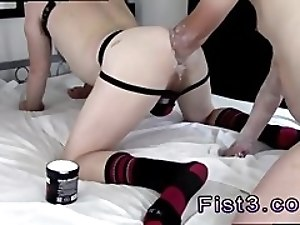 Fisting anal gay emo porn A Proper Stretching Fist Fuck!