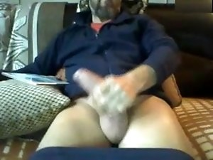 bearded with a huge dick!