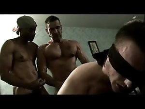 Two Huge Cocks Bareback White Dude And Cum
