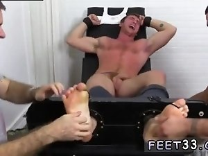 Foot long cock cumming gay first time Connor Maguire Tickled Naked