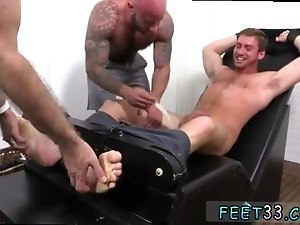 Men gay legs open wide first time Connor Maguire Jerked Tickle d