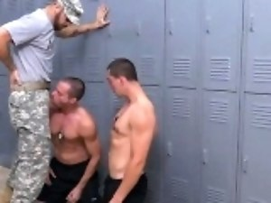 Gay young army boys Extra Training for the Newbies