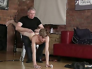 Spanking The Schoolboy Jacob Daniels - Jacob Daniels And