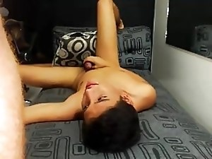 Latin Twink Cums in His Boyfriend's Asshole